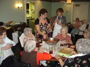 Cooking up good memories at St. Francis Villa